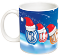 Bingo Balls and Santa Hats Mug