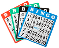 100 Reusable Multi-Color Bingo Cards