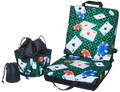 playing cards Double Cushion & Tote Set