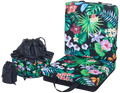 Jungle Black Double Cushion & Tote Set