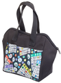 6 Pocket Bingo Pattern Tote Bag