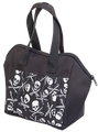 6 Pocket Skulls and Swards Pattern Tote Bag