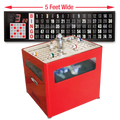 Professional Table Top bingo blower and Flashboard
