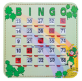 Shamrock Bingo Shutter Cards 10, Quick Clear