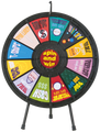 12-Slot Table Top Prize Wheel 31""
