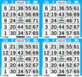 4on Bingo Paper By The Bundle