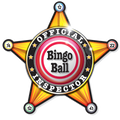T-Shirt Official Bingo Ball Inspector