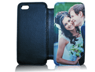 New  iphone 4 4s Flip Case Leatherette phone case