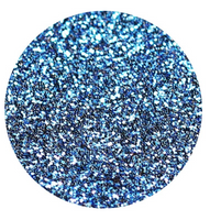 Old Blue Glitter Vinyl Sheet Heat Transfer