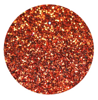 Copper (Dark Orange) Glitter Vinyl Sheet