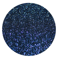 Navy Blue Glitter Vinyl Sheet