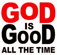 God is Good all the Time (New) Vinyl Transfer (Red White)