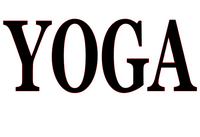 Yoga Vinyl Transfer (Black)