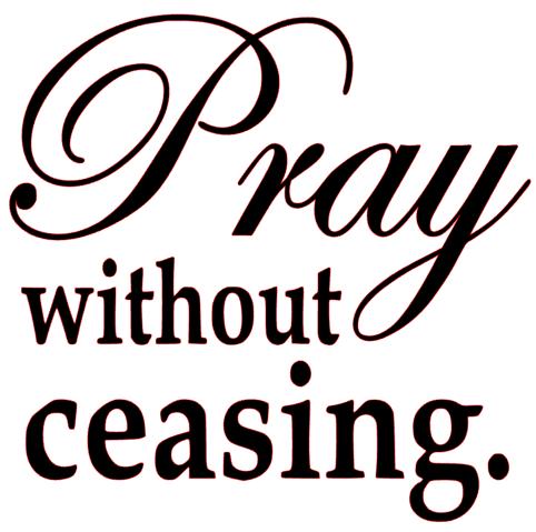 Pray without ceasing vinyl transfer black texas rhinestone for Pray without ceasing coloring page