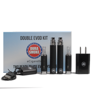 Durasmoke Double EVOD Starter Kit with Chargers and Vape Carrying Case