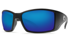 Black Frame & Blue Mirror Lens