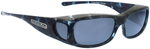 Jonathan Paul® Fitovers Eyewear Medium Sabre in Blue-Cloud & Gray SB001