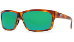 Honey Tortoise Frame & Green Mirror Lens