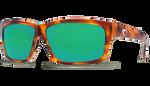 Honey Tortoise Frame & Green Mirror Lens