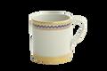 Mottahedeh Chinoise Blue Mug S1540