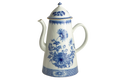 Mottahedeh Imperial Blue Coffee Pot CW2407