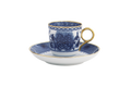 Mottahedeh Imperial Blue Demitasse Cup and Saucer CW2406