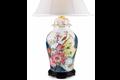 Mottahedeh Tobacco Leaf Ginger Jar Lamp Y2357L