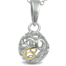 Glamorous - Love To Party (cute size) - sterling silver pendant