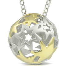 My Shining Star - You Have Come So Far - sterling silver pendant