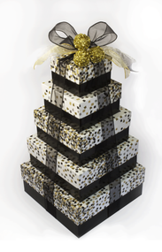 Confetti Elegance 5 Tier Tower