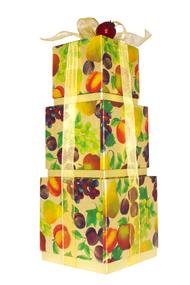 Sumptuous Fruit Cube Style Boxes