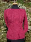 Richmond sweater in Cranberry