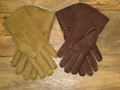 Gents sheepskin gloves available in various natural colours.
