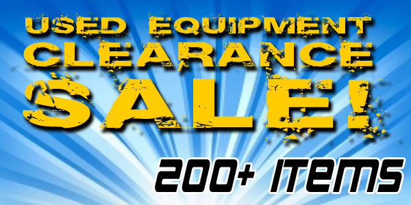 Used Equipment on Sale