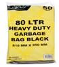 GARB/BAG H/D 75-80 LT BLACK