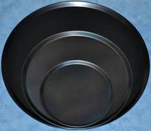 Black Steel Pizza Tray 15 inch