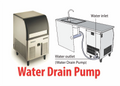 Scotsman Underbench Ice Maker with Pump Out Drain System EC86-PWD-A