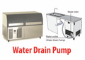 Scotsman Underbench Ice Maker with Pump Out Drain System EC206-PWD-A