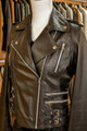 Ladies Leather Biker Black