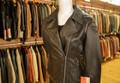 Ladies Leather Jacket Black BL718