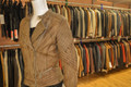 Ladies Leather Jacket Olive BL707