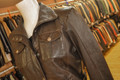 Ladies Leather Jacket BL115 Brown