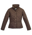 Toggi Sandown Ladies Quilted Jacket Chocolate