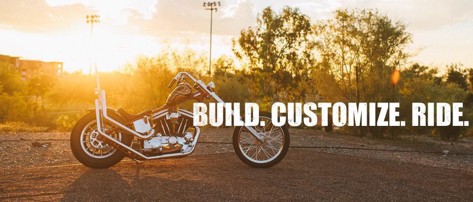 Custom Builders parts by Throttle Addiction