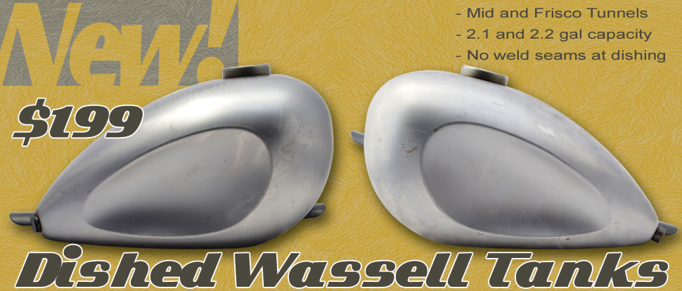 Dished Wassell Gas Tank by Throttle Addiction