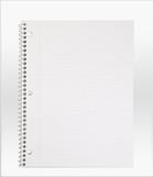 Cleanroom Notebook Paper PNB CI 8.5x11 2210
