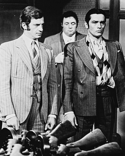 Picture of Alain Delon in Borsalino