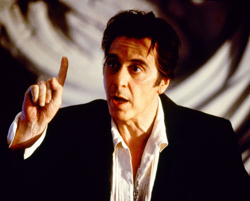 Picture of Al Pacino in The Devil's Advocate