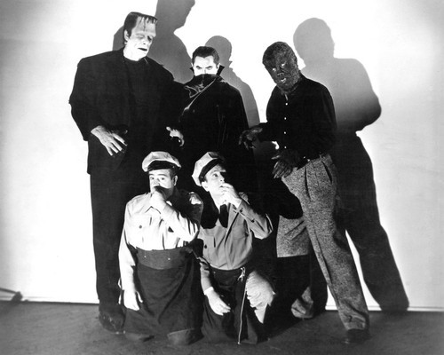 Picture of Bud Abbott Lou Costello Meet Frankenstein