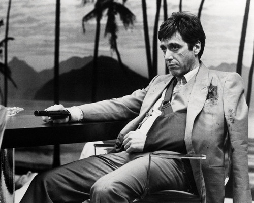 Picture of Al Pacino in Scarface